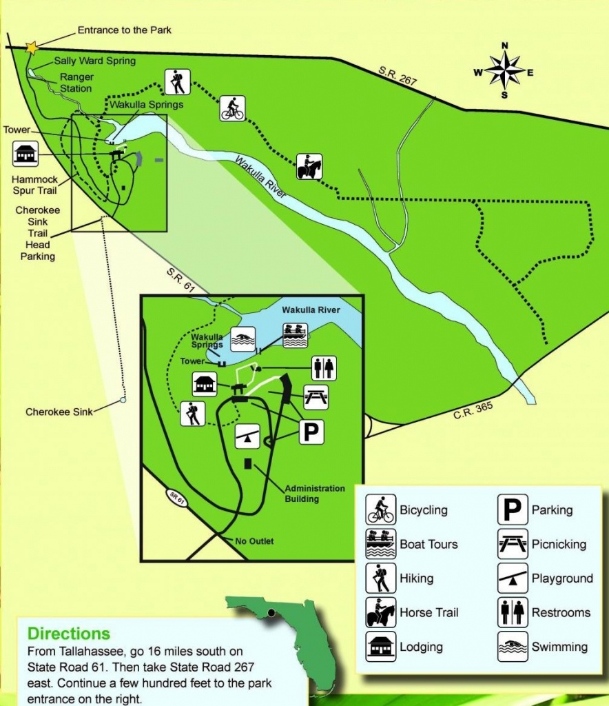 Guide To Springs In North Florida - Central Florida Springs Map