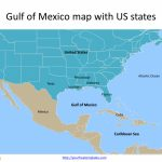 Gulf Of Mexico Map Powerpoint Templates   Free Powerpoint Templates   Gulf Of Mexico Map Florida