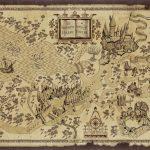 Harry Potter Map | Treasure Map Inspiration | Harry Potter Free   Harry Potter Map Marauders Free Printable