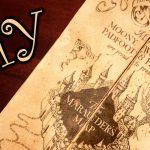 Harry Potter Marauder's Map   Diy   Youtube   Harry Potter Map Marauders Free Printable
