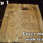 Harry Potter Paraphernalia: Marauder's Map: Inside And Outside   Harry Potter Map Marauders Free Printable