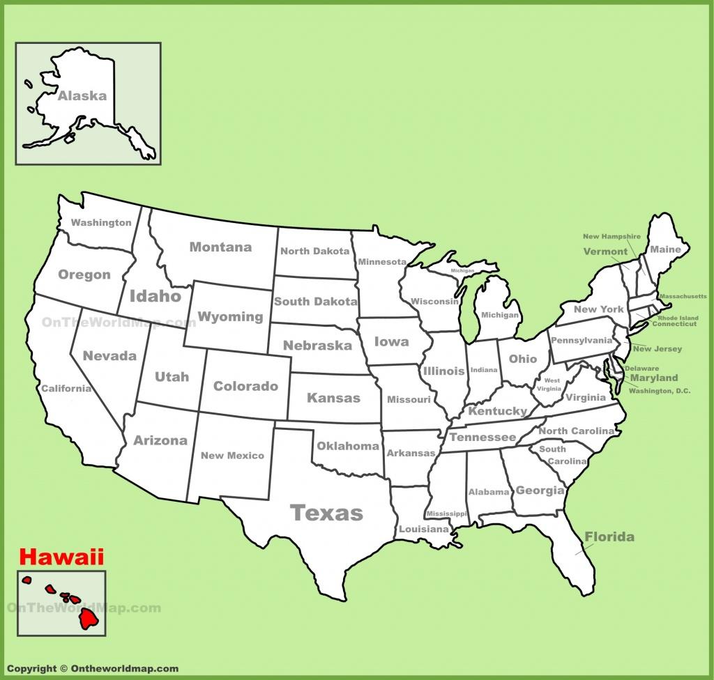 Hawaii State Maps | Usa | Maps Of Hawaii (Hawaiian Islands) - Printable Map Of Hawaiian Islands
