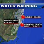 Health Department Issues Swim Advisory For South Florida Beaches Due   Florida Beach Bacteria Map 2018