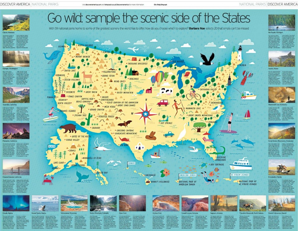 Hello From Nate & Salli | Maps | National Parks Map, Map, American - Printable Map Maker