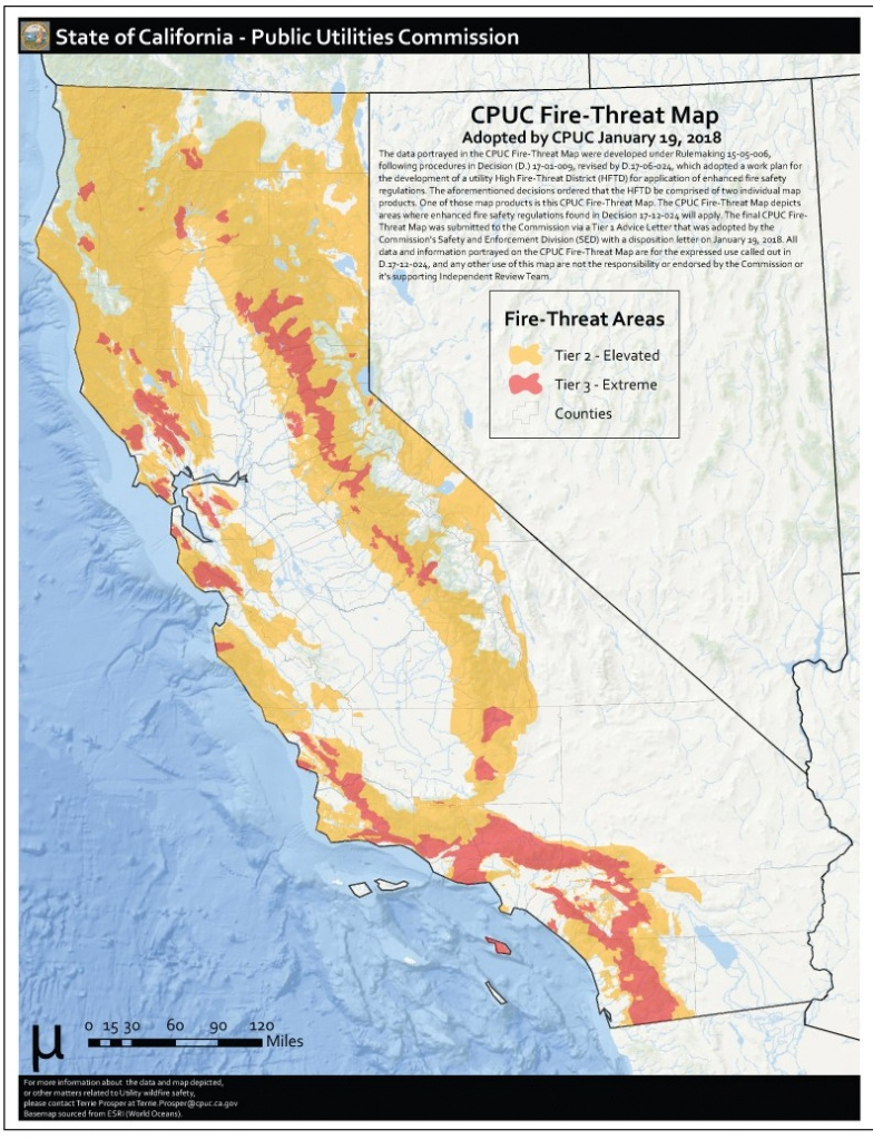 Here Is Where Extreme Fire-Threat Areas Overlap Heavily Populated - Southern California Fire Map
