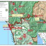 Highway 1 Conditions In Big Sur, California   California Road Conditions Map