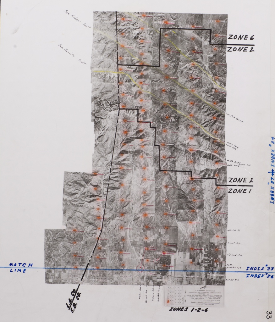 Historical Aerial Photos - Archives - Water Resources Institute - Printable Map Of Riverside County