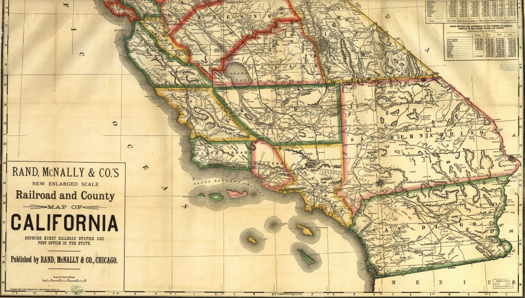 Historical Maps Of California - Historical Map Of California