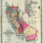History Of California Travel   Historical Map Of California