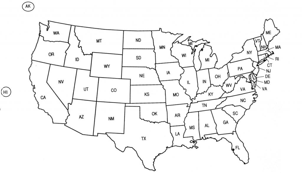Hite Fresh Usa Outline Blank - Berkshireregion - Us Map Test Printable