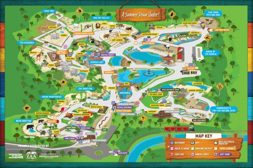Home - San Antonio Zoo - Central Florida Zoo Map