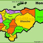 Honduras Maps | Maps Of Honduras - Printable Map Of Honduras