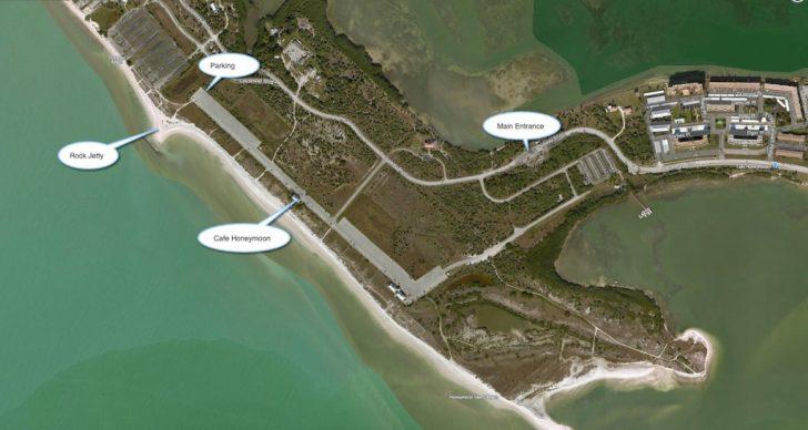 Honeymoon Island Florida Map