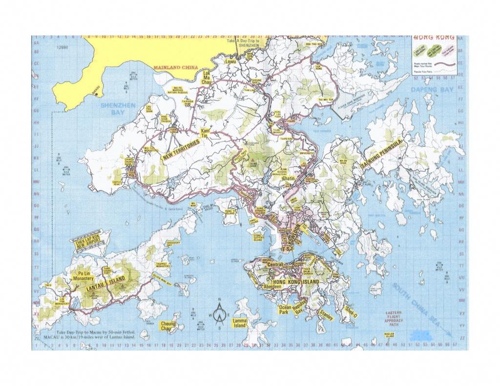 Hong Kong Map - Detailed City And Metro Maps Of Hong Kong For - Printable Map Of Hong Kong