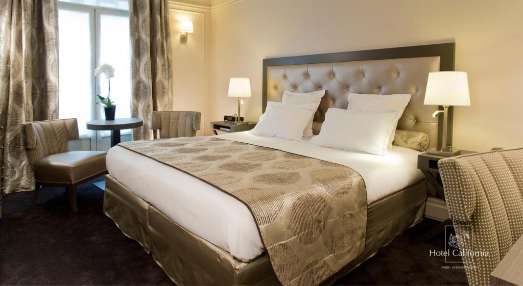 Hôtel California Champs Elysées, Paris – Tarifs 2019 - Hotel California Paris Map