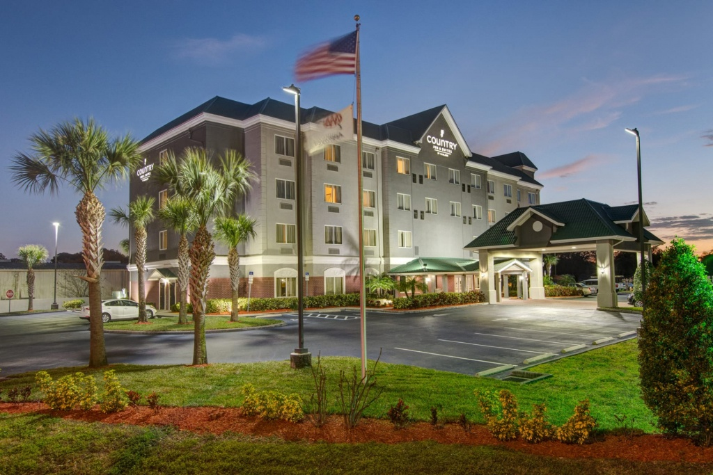 Hotel Country Inn & Suitescarlson St. Petersburg Clearwater - Country Inn And Suites Florida Map