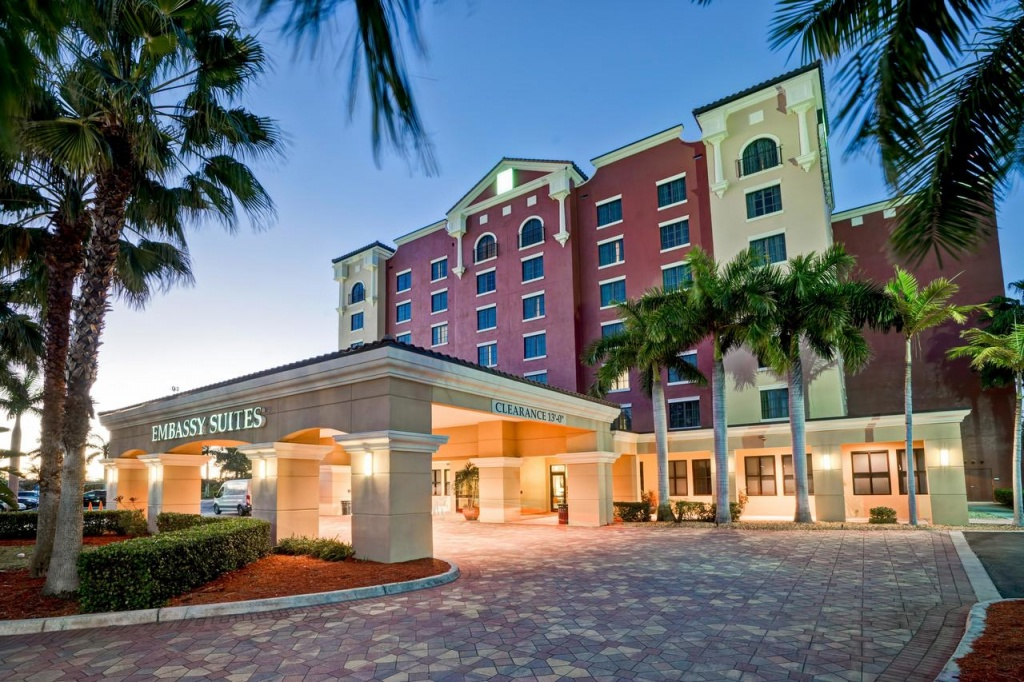 Hotel Embassy Ft Myers Estero, Fl - Booking - Embassy Suites Florida Locations Map