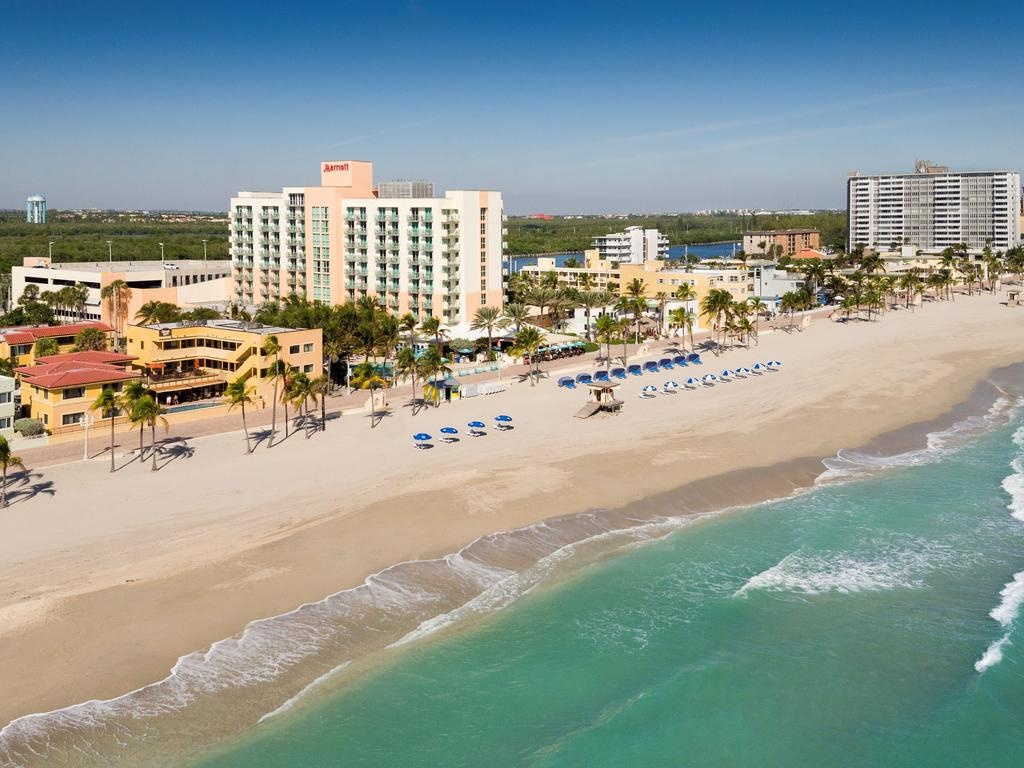 Hotel Hollywood Beach Marriott, Fl - Booking - Map Of Hotels In Hollywood Florida