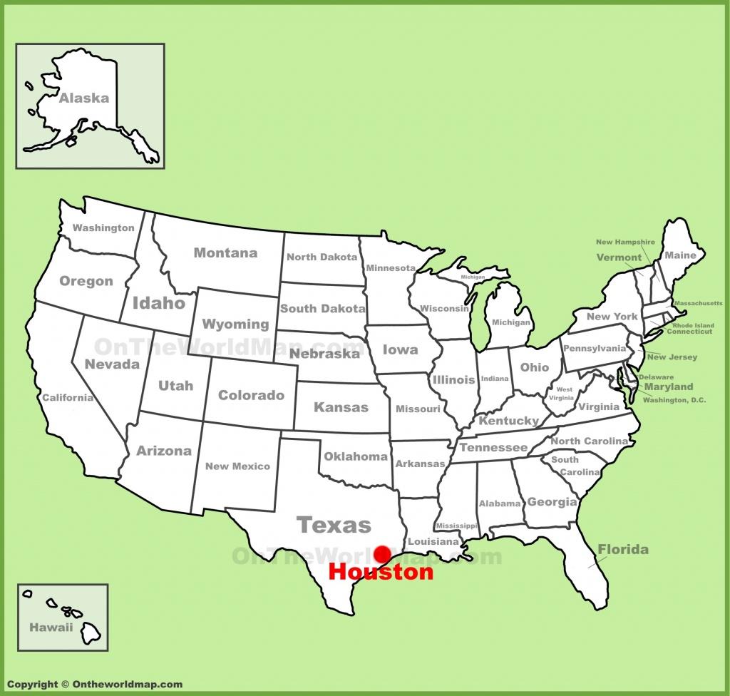 Houston Maps | Texas, U.s. | Maps Of Houston - Houston Texas Map Airports