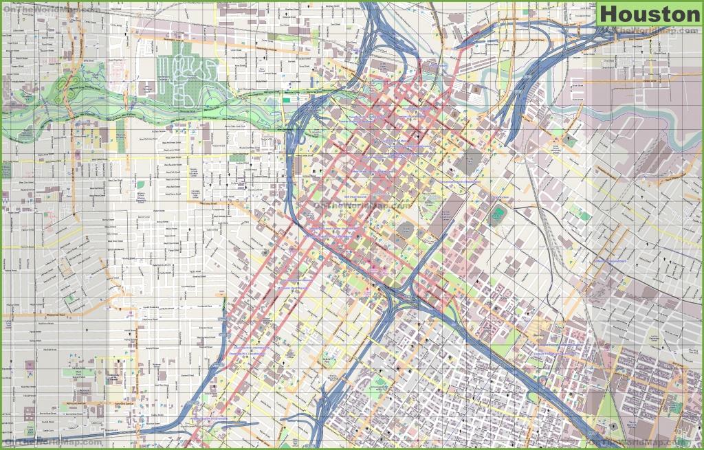 Houston Maps | Texas, U.s. | Maps Of Houston - Road Map Of Houston Texas