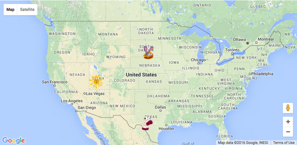 How To Export Google Map To Image Including Custom Markers? - Stack - Maps Google Florida Usa