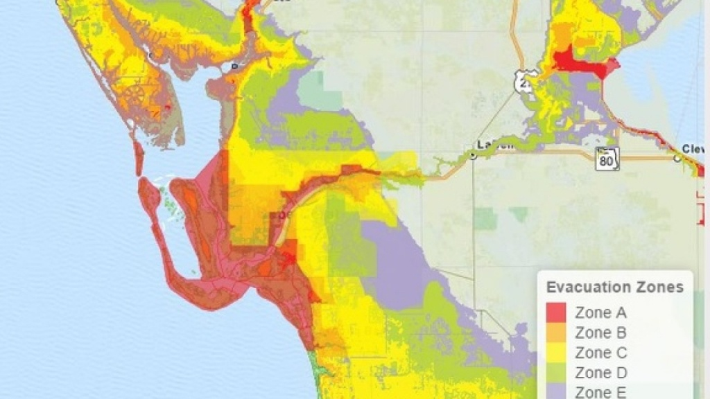How To Find Which Florida Evacuation Zone You Live In - Florida Hurricane Evacuation Map