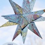 How To Make Gorgeous Free Printable Map Star Decorations | Paper   Free Printable Star Maps