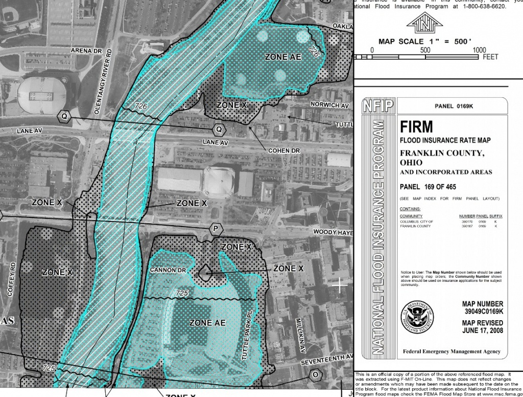 How To Read Flood Zone Maps - Buildipedia - California Flood Insurance Rate Map