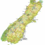 How To Road Trip The South Island | New Zealand | Road Trip New   New Zealand South Island Map Printable