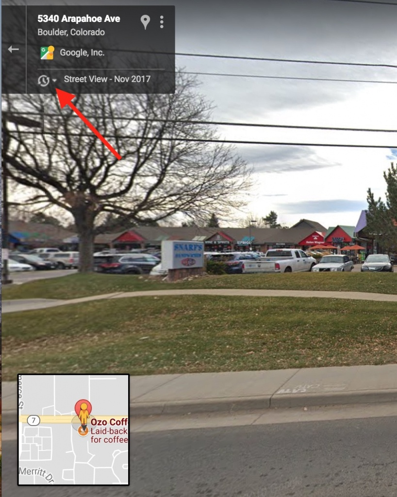 How To See Archives Within Google Street View - The Mac Observer - Google Maps Street View Houston Texas
