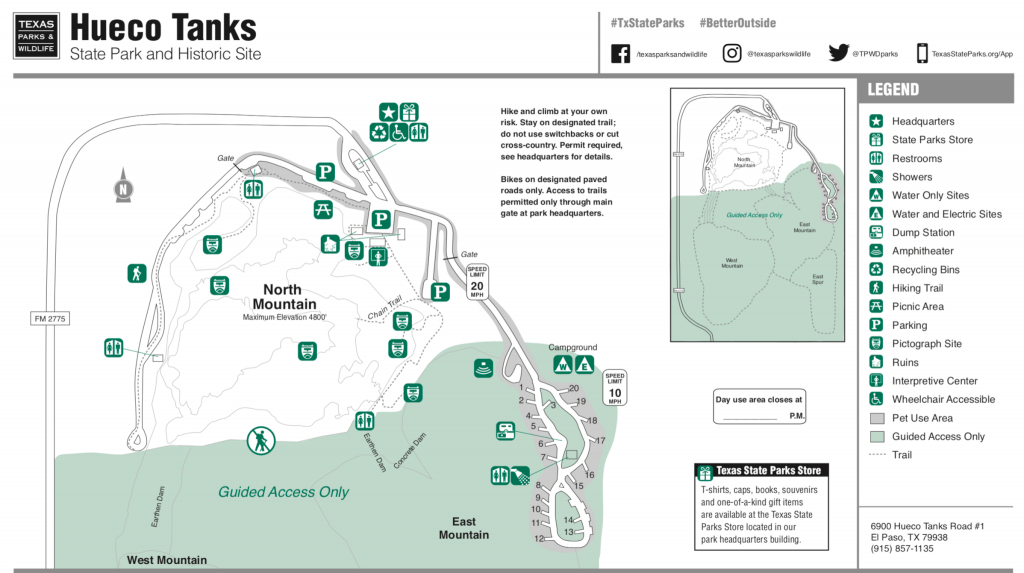 Hueco Tanks State Park - Campsite Photos, Camping Info & Reservations - Texas State Parks Camping Map