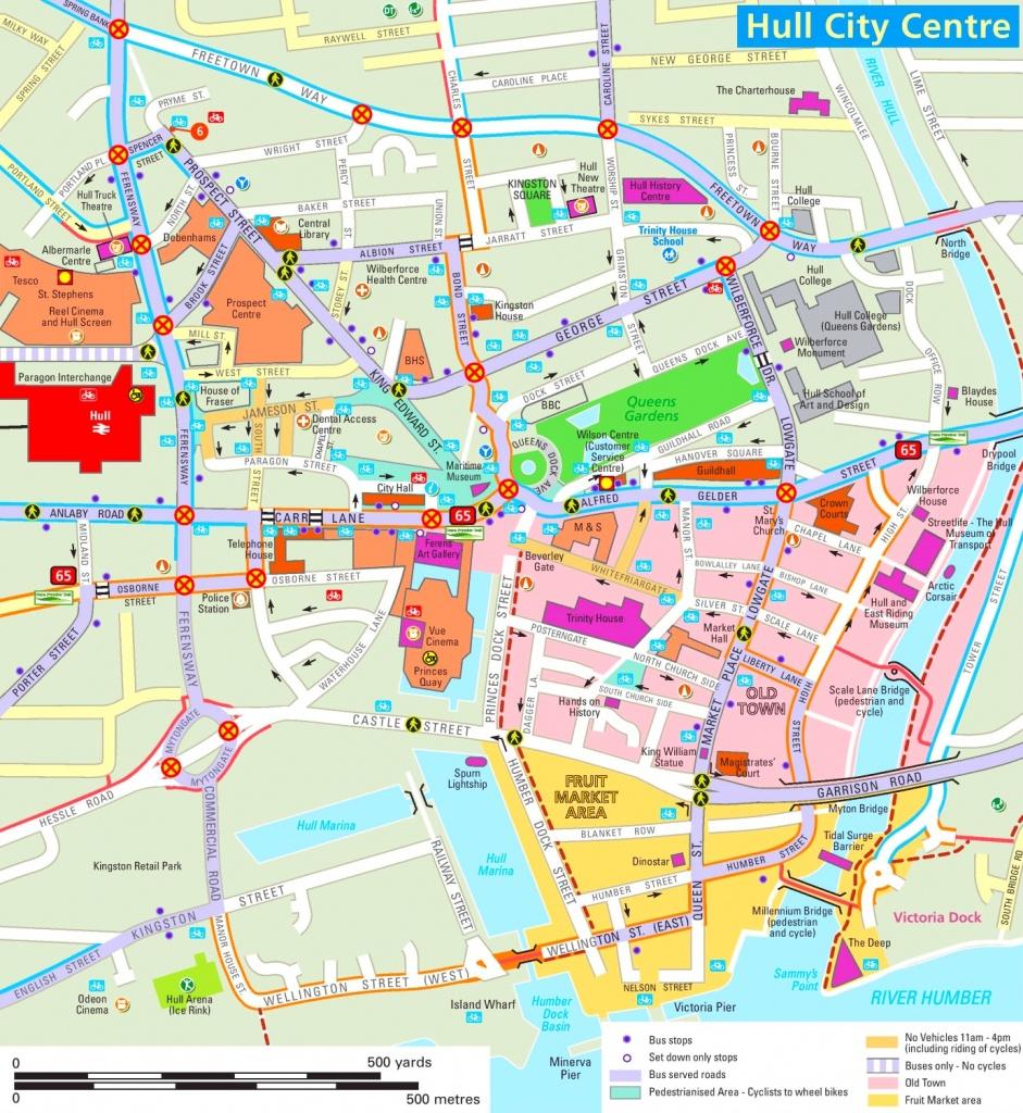 Hull Tourist Map - Hull Texas Map
