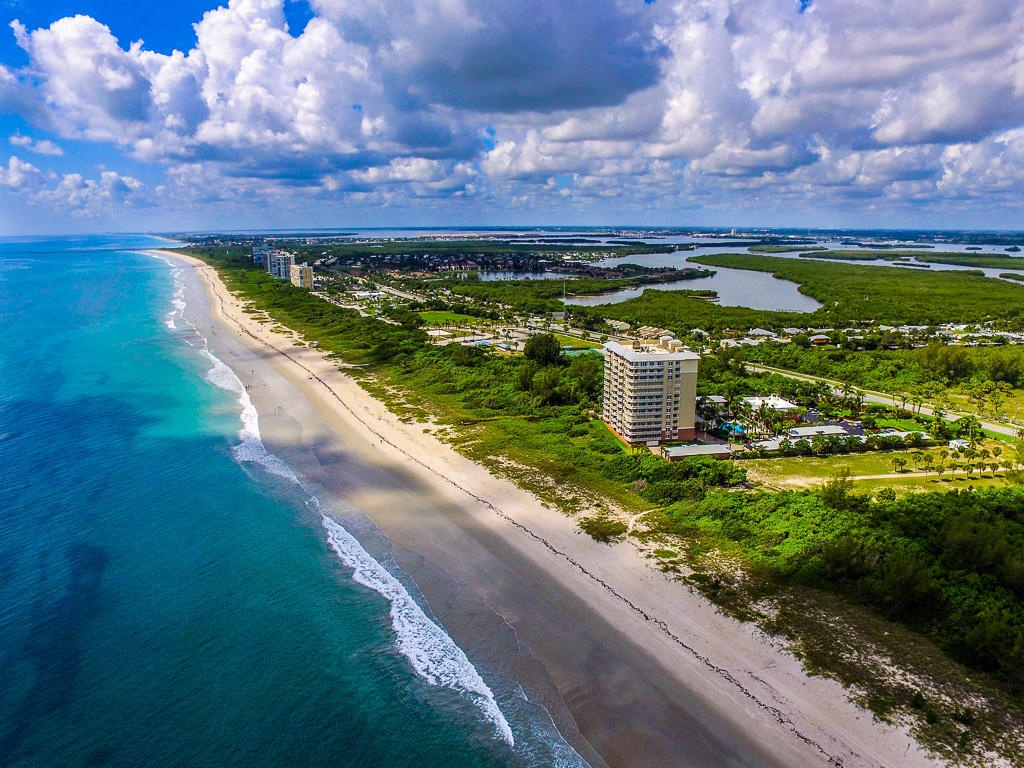 Hutchinson Island Oceanfront Land: Beachfront Land Hutchinson Island Fl - Hutchinson Beach Florida Map