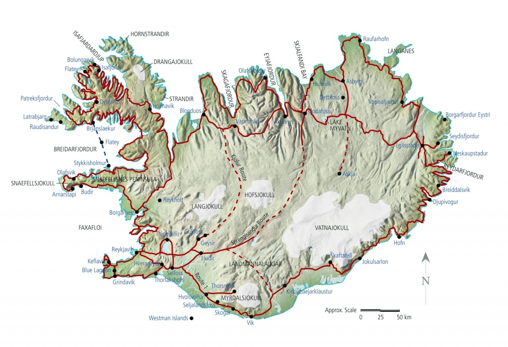 Iceland Maps   Printable Maps Of Iceland For Download - Maps Of Iceland Printable Maps