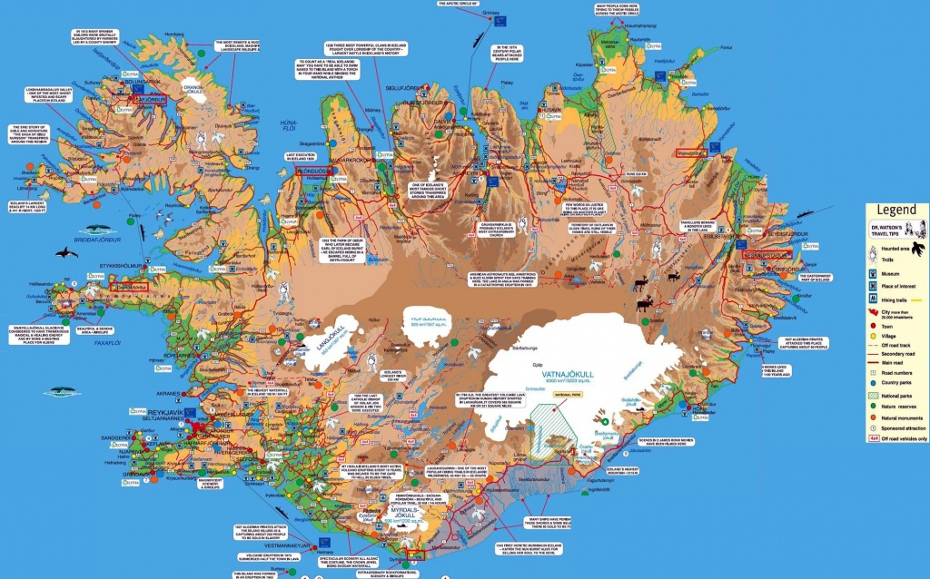 Iceland Maps | Printable Maps Of Iceland For Download - Printable Driving Map Of Iceland