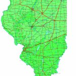 Illinois Map   Online Maps Of Illinois State   Printable Map Of Champaign Il