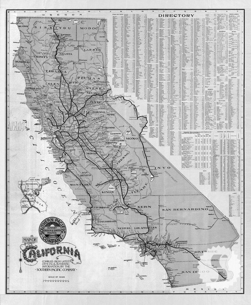 Image Result For Black White Road Map California | Kitchen - California Map Black And White