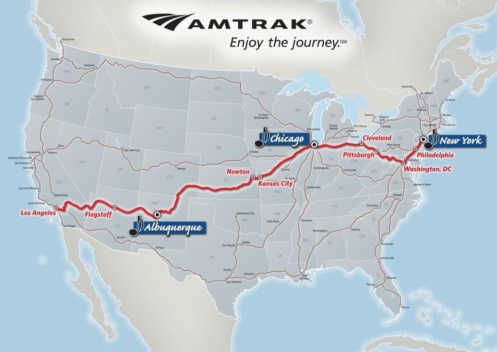Image Result For Map Amtrak California Zephyr | Amtrak California - California Zephyr Map
