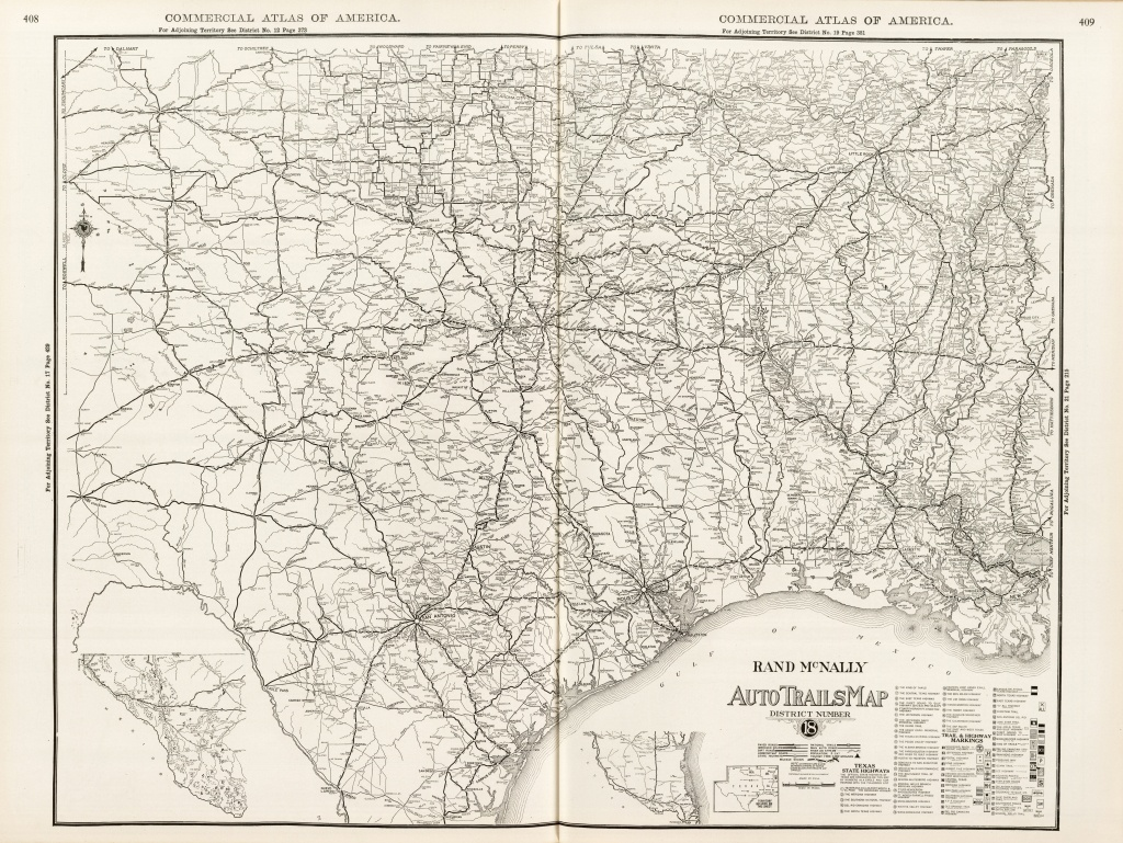 Imagining Texas: An Historical Journey With Maps | The History Center - Rand Mcnally Texas Road Map