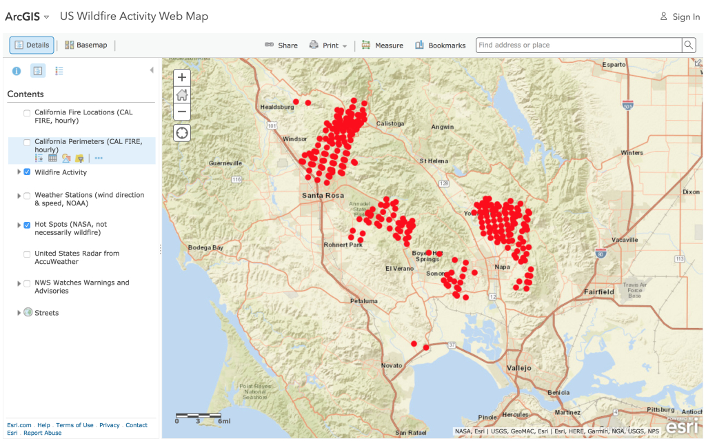 In Search Of Fire Maps – Greeninfo Network - California Wildfire Map