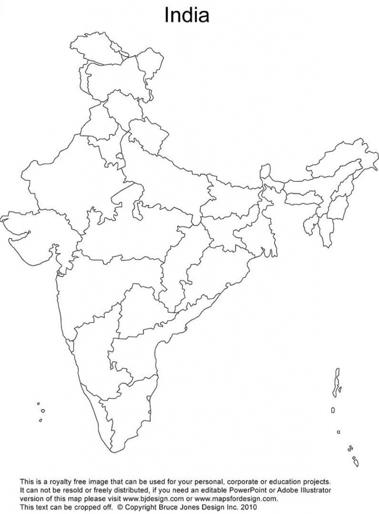 India Outline Map Printable | India Map | India Map, India World Map - Blank Political Map Of India Printable