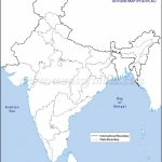 India Political Map In A4 Size   Blank Political Map Of India Printable