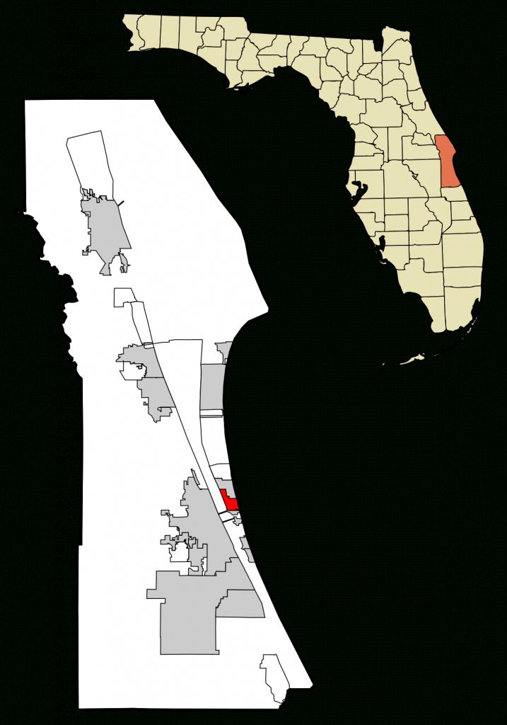Indian Harbour Beach, Florida - Wikipedia - Indian Beach Florida Map