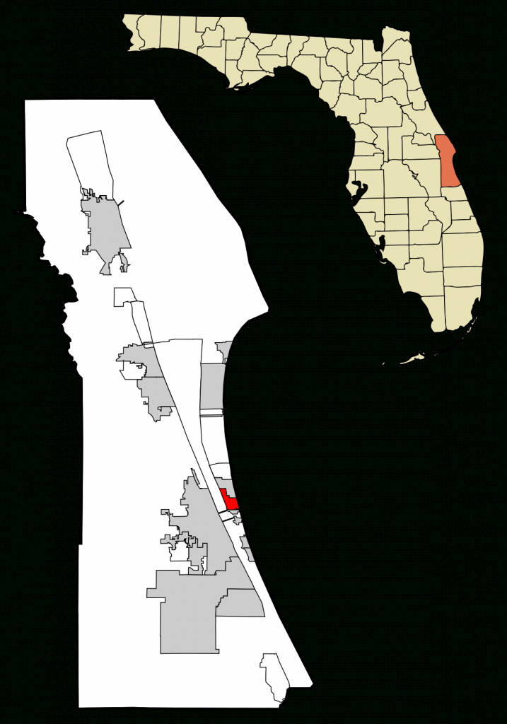 Indian Harbour Beach, Florida - Wikipedia - Indian Springs Florida Map