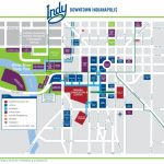 Indianapolis Downtown Map   Printable Map Of Indianapolis