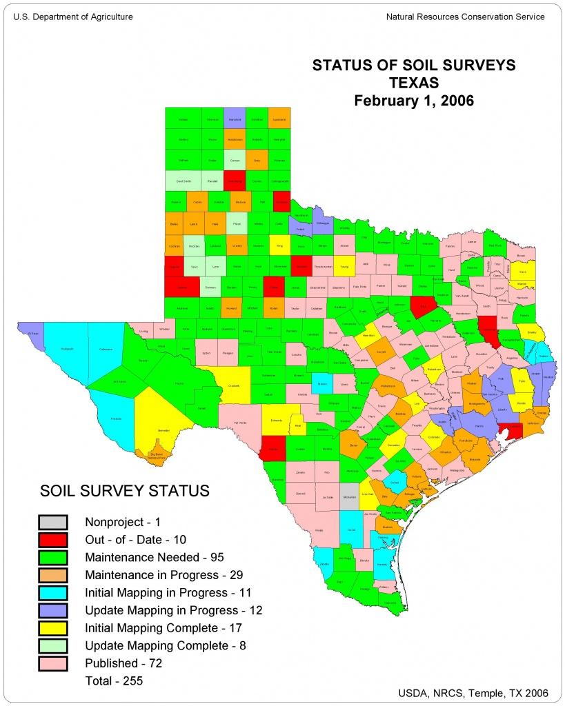 Information On Texas Soils - Texas Survey Maps