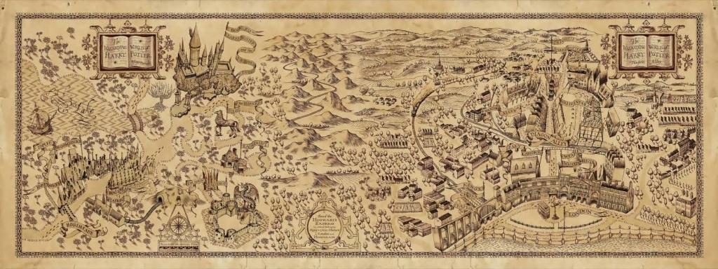 Inside Hogwarts Castle Map - Google Search | Harry Potter | Harry - Hogwarts Map Printable