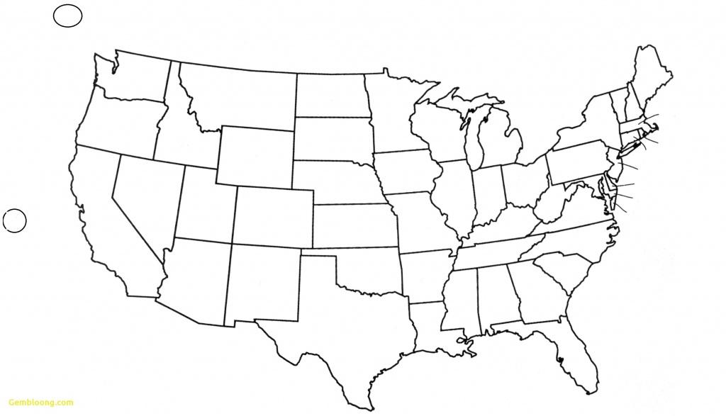 Inspirational Free Printable Blank Us Map Blank Us Map States - Free Printable Usa Map With States
