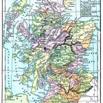 Instant Art Printable - Map Of Scotland - The Graphics Fairy - Printable Map Of Scotland