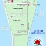 Interactive Map: Captiva, Florida (Amrc)   Christmas Florida Map